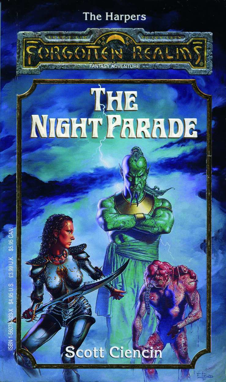 The Harpers Forgotten Realms Novels border=